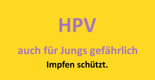 Die HPV-Impfung schützt Jungs und Mädels effizient